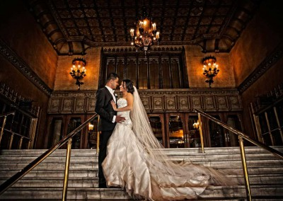 Bride and Groom Wedding Photography Melbourne Plaza Ballroom