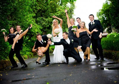 Wedding Photography Bridalparty Fun