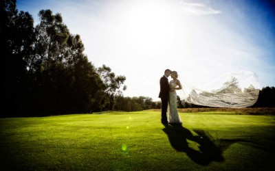 Kim and Huw wedding at RACV Healesville