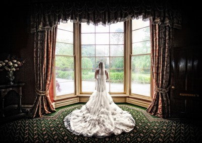 bride wedding photography at chateau yering